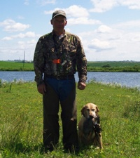 Iowa Retriever Trainer Duane Durant